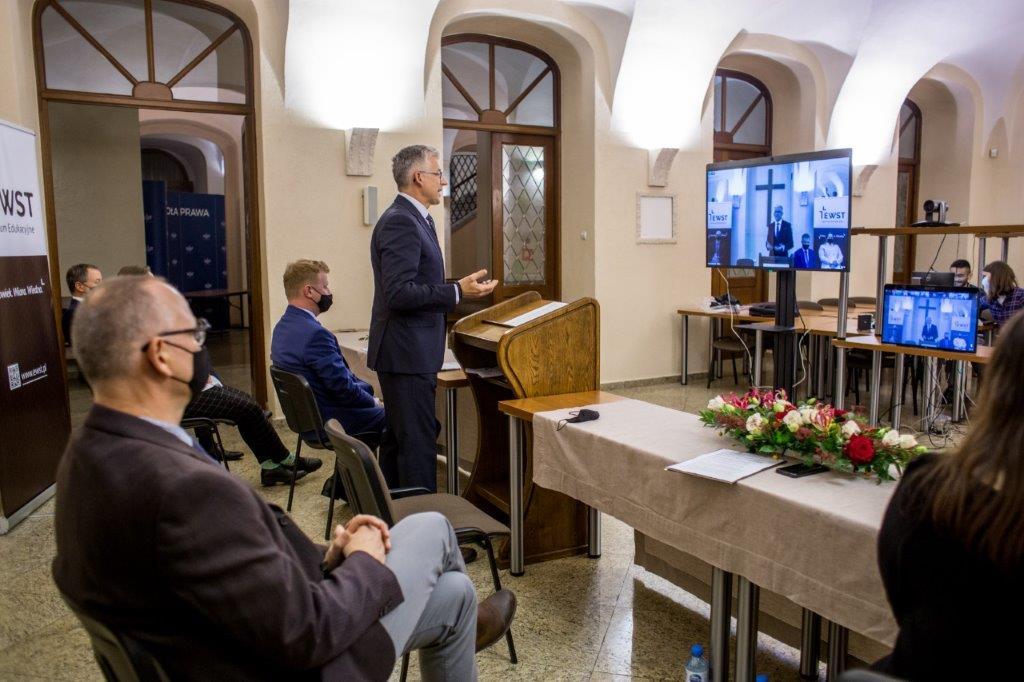 Obsługa rozpoczęcia roku akademickiego w Ewangelikalnej Wyższej Szkole Teologicznej we Wrocławiu