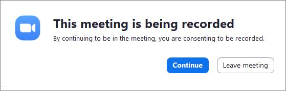 Nagrywanie spotkania