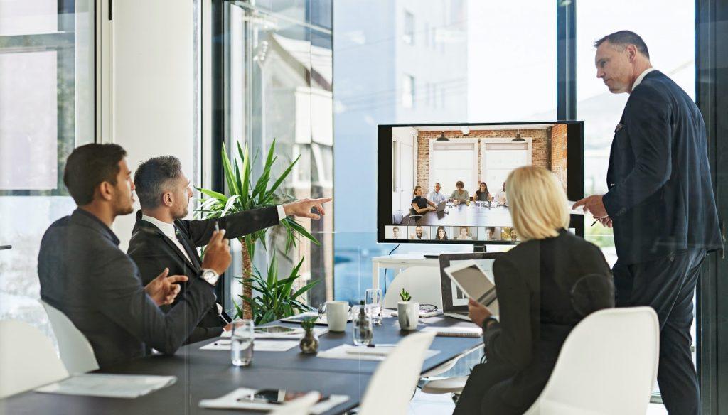 Zoom Webinars - spotkanie firmowe